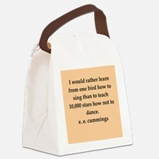 cummings1.png Canvas Lunch Bag