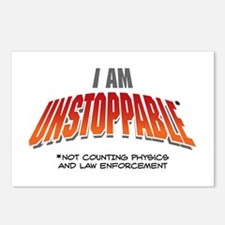 Unstoppable Postcards (Package of 8)