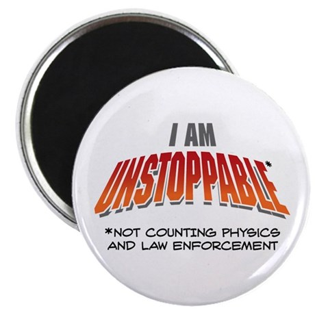 "Unstoppable 2.25"" Magnet (10 pack)"