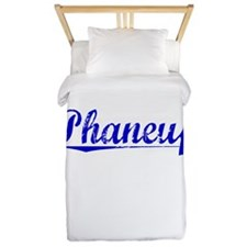 Phaneuf, Blue, Aged Twin Duvet