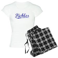 Pickles, Blue, Aged Pajamas