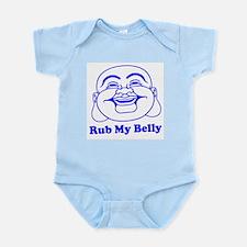 Funny Buddha Infant Creeper