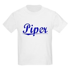 Piper, Blue, Aged T-Shirt