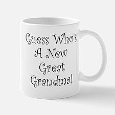 Guess Who Great Grandma Mug