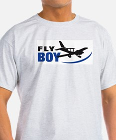 Fly Boy Ash Grey T-Shirt T-Shirt