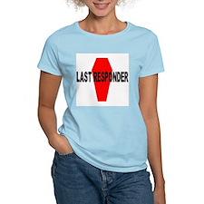 LAST RESPONDER Women's Pink T-Shirt