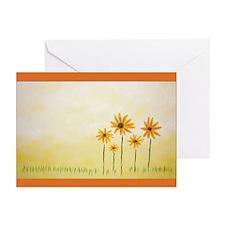 Flower Art Print Greeting Cards (Pk of 10)