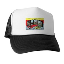 Marion Ohio Greetings Trucker Hat