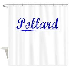 Pollard, Blue, Aged Shower Curtain
