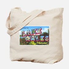 Lake Wales Florida Greetings Tote Bag