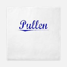 Pullen, Blue, Aged Queen Duvet