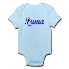 Puma, Blue, Aged Infant Bodysuit