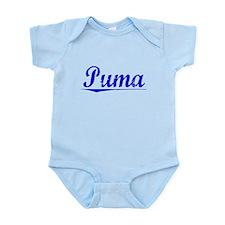 Puma, Blue, Aged Onesie