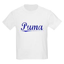 Puma, Blue, Aged T-Shirt