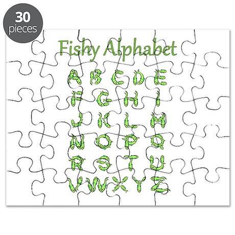 Fishy Alphabet Puzzle