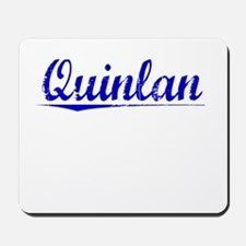 Quinlan, Blue, Aged Mousepad