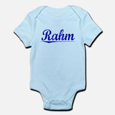 Rahm, Blue, Aged Infant Bodysuit