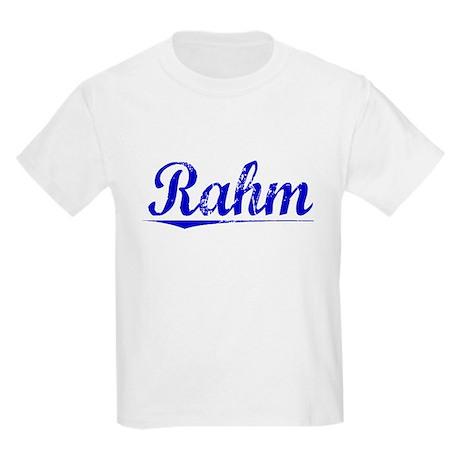 Rahm, Blue, Aged Kids Light T-Shirt