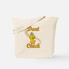 Dart Chick #2 Tote Bag