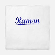 Ramon, Blue, Aged Queen Duvet