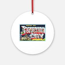 Jefferson City Missouri Ornament (Round)