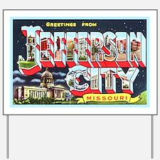 Jefferson City Missouri Yard Sign