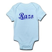 Razo, Blue, Aged Infant Bodysuit