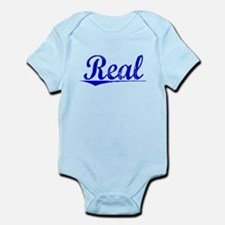 Real, Blue, Aged Infant Bodysuit