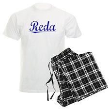 Reda, Blue, Aged Pajamas