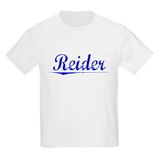Reider, Blue, Aged T-Shirt