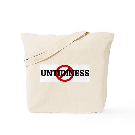 Anti UNTIDINESS Tote Bag