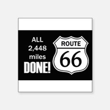 Route 66 - Done! - Sticker