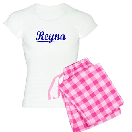 Reyna, Blue, Aged Women's Light Pajamas