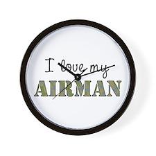 I love my Airman Wall Clock