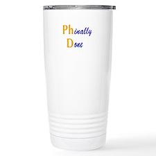 Phinally Done Travel Mug
