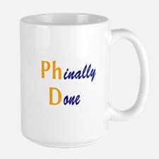 Phinally Done Mug