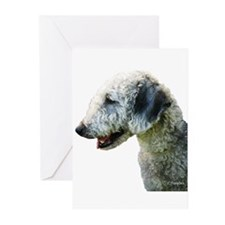 Bedlington Terrier Greeting Cards (Pk of 20)