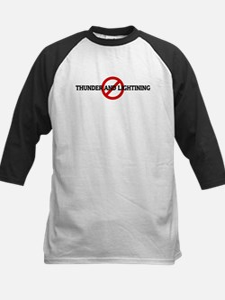 Anti THUNDER AND LIGHTINING Kids Baseball Jersey