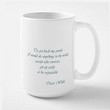 Wilde - to get back my youth Mug