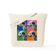 Bedlington Pop Art Tote Bag