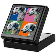Bedlington Warhol.jpg Keepsake Box