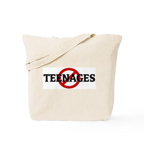 Anti TEENAGES Tote Bag