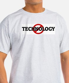 Anti TECHNOLOGY Ash Grey T-Shirt