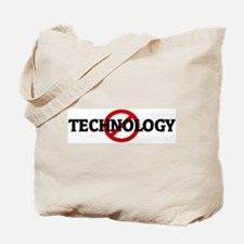 Anti TECHNOLOGY Tote Bag