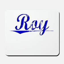 Roy, Blue, Aged Mousepad