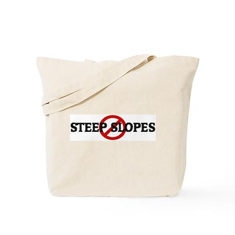 Anti STEEP SLOPES Tote Bag