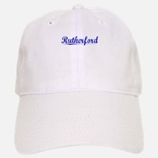 Rutherford, Blue, Aged Baseball Baseball Cap