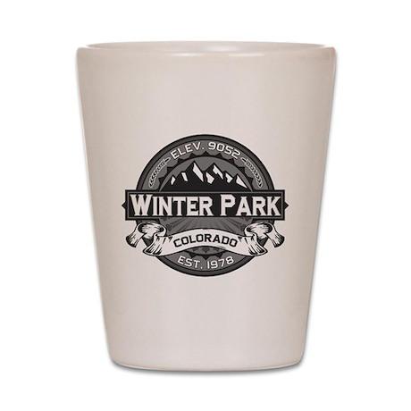 Winter Park Grey Shot Glass
