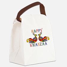 Happy Kwanzaa Canvas Lunch Bag