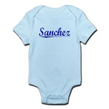 Sanchez, Blue, Aged Infant Bodysuit